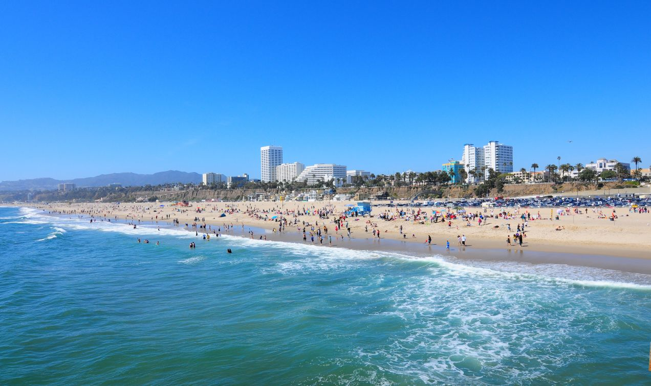 Hotel Near Santa Monica Beach Huntley Santa Monica